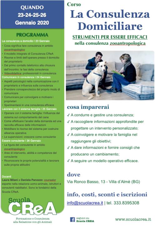 Loc. CONSULENZA DOMICILIARE _ CD8_2020